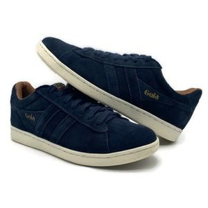 Gola Equip Suede Classic Navy Blue Suede Shoes 6